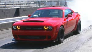 The 840 hp Demon is the most powerful American car ever and the quickest production car in the world on a drag strip. FoxNews.com Automotive Editor Gary Gastelu took it to one to find out what makes it so fast.