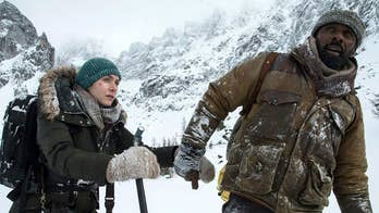 Stars battled the elements in the Canadian Rocky Mountains to film the thriller 'The Mountain Between Us.'