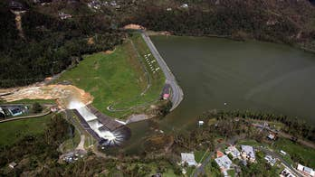 Hurricane-damaged dam threatens to break, spilling millions of gallons of water into the surrounding area; senior correspondent Mike Tobin reports from San Juan, Puerto Rico.