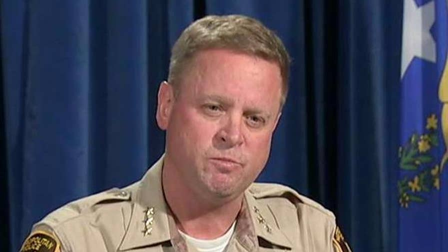 Las Vegas official calls for 'true tips and leads' while taking questions on mass shooting investigation.