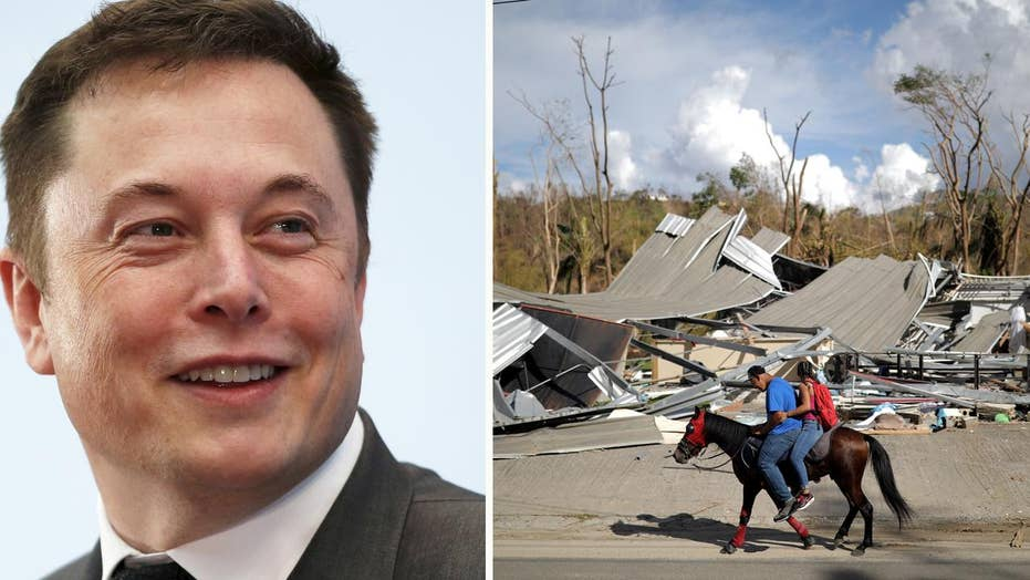 Elon Musk: Tesla can rebuild Puerto Rico's power grid
