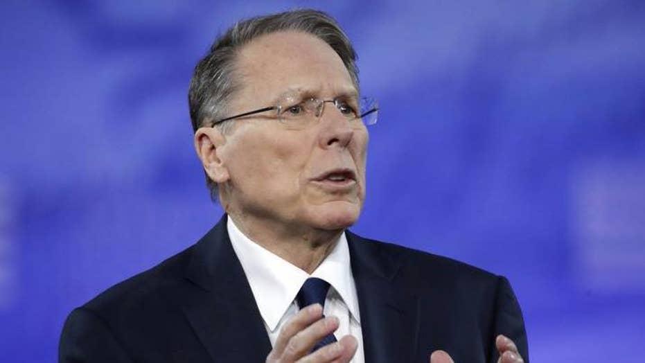 NRA leader calls Hollywood 'hypocrites' on gun control