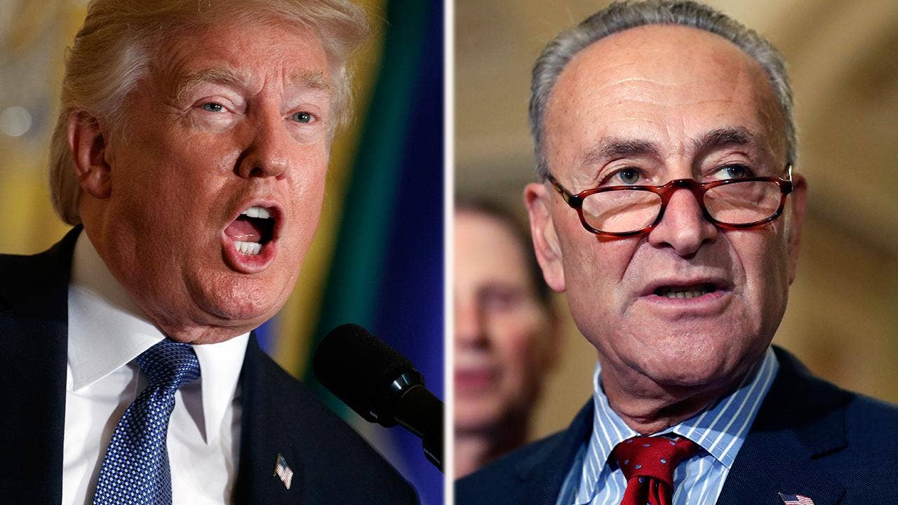 Trump and Schumer clash on Twitter over Iran deal, taxes: 'Tell that to Israel, Chuck'