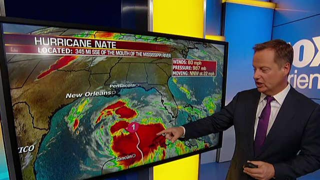 Nate expected to arrive in the Gulf by Saturday evening