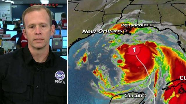 FEMA preps for Nate