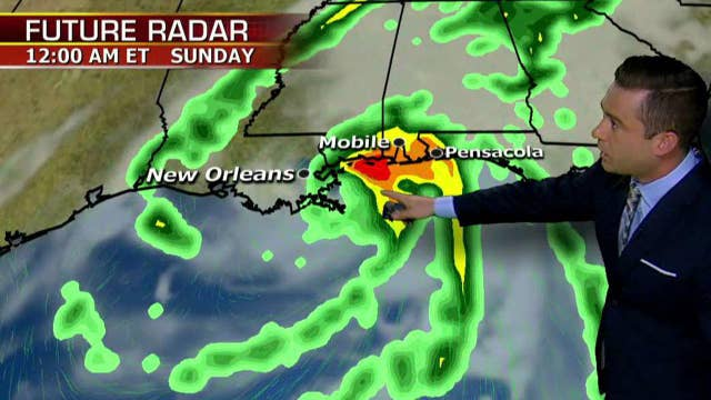 Fast-moving Hurricane Nate likely to hit land as category 2