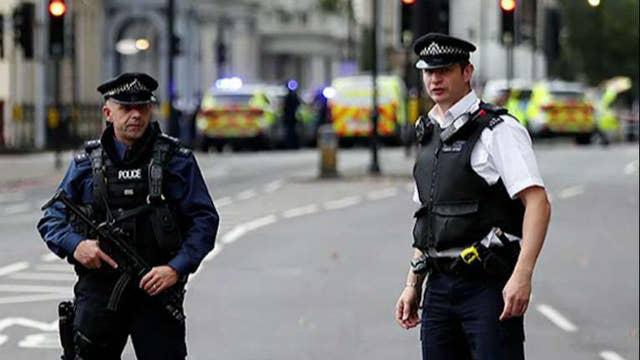 Several injured after car strikes pedestrians in London
