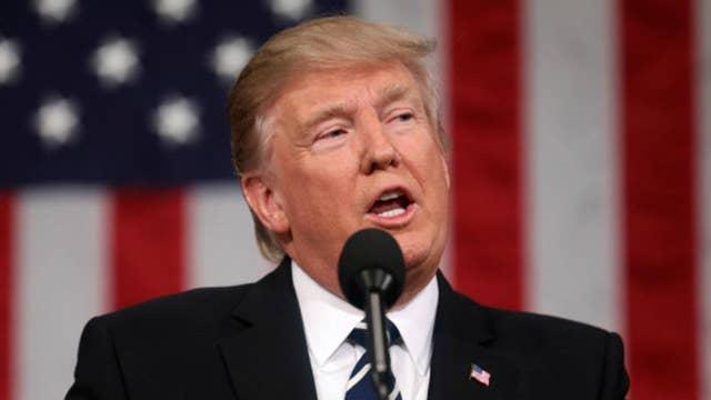 President Trump slams 'unfunny' late night hosts