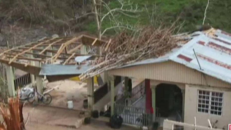 Recovery efforts make slow progress in Puerto Rico