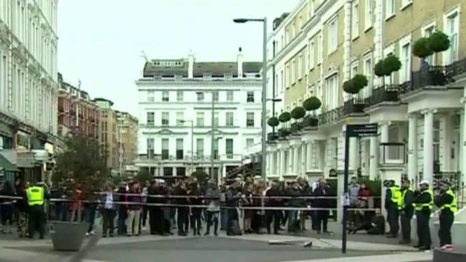 London police say car incident not terrorism related