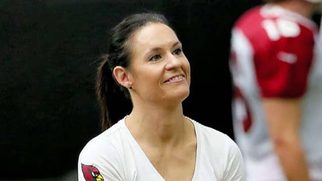 One-on-one with the NFL's first female coach