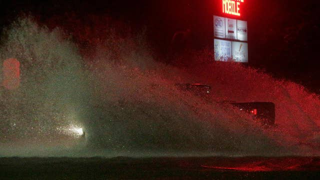 Nate bringing powerful storm surge