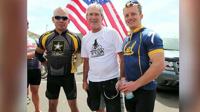 George W. Bush honors wounded warriors at annual event