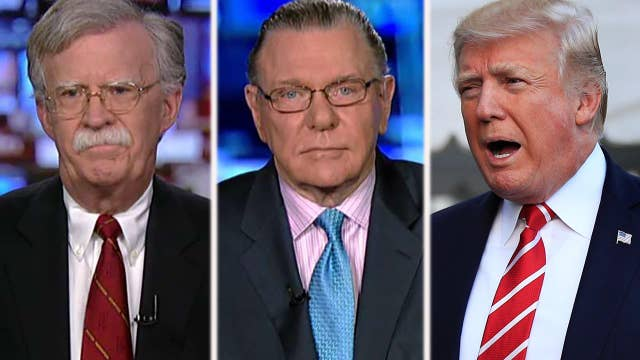 How do adversaries of the US view Trump's foreign policy?