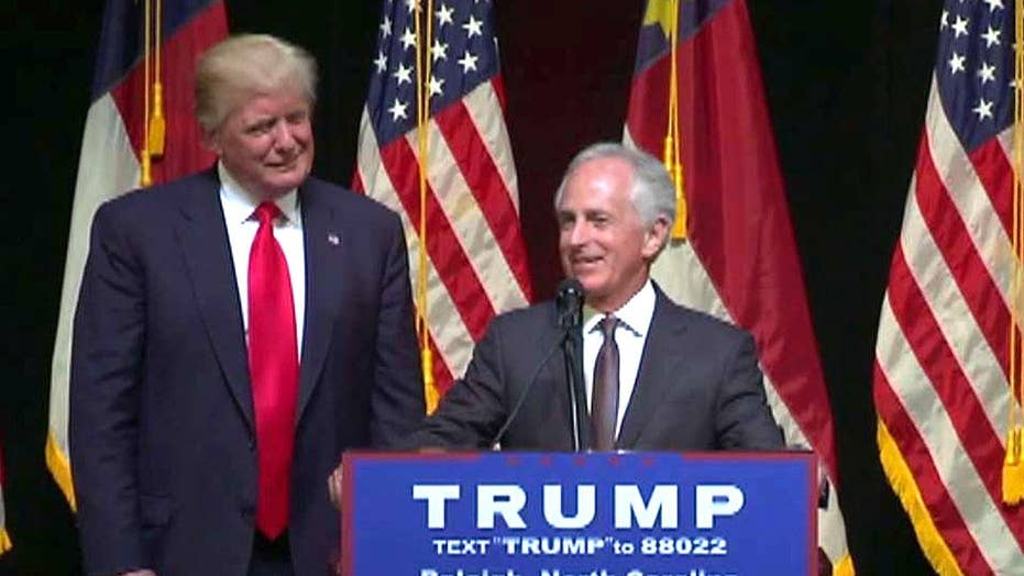 President Trump and Senator Corker trade jabs on Twitter