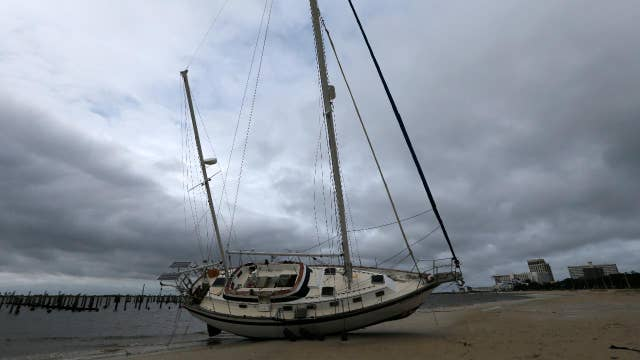 Hurricane Nate brings 6-foot storm surge to Gulf Coast