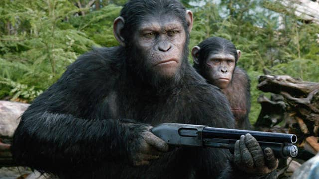 Comic Con fans step into 'Planet of the Apes' experience