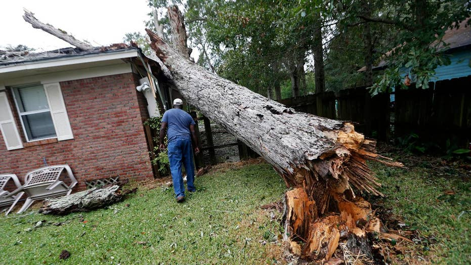 Flooding, power outages on Gulf Coast after Hurricane Nate