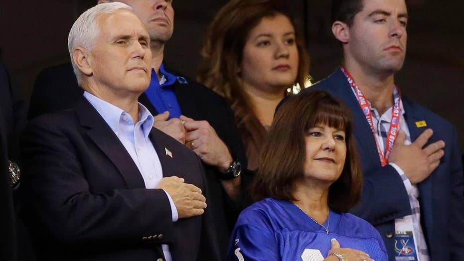 Was Pence's NFL walkout a political stunt?