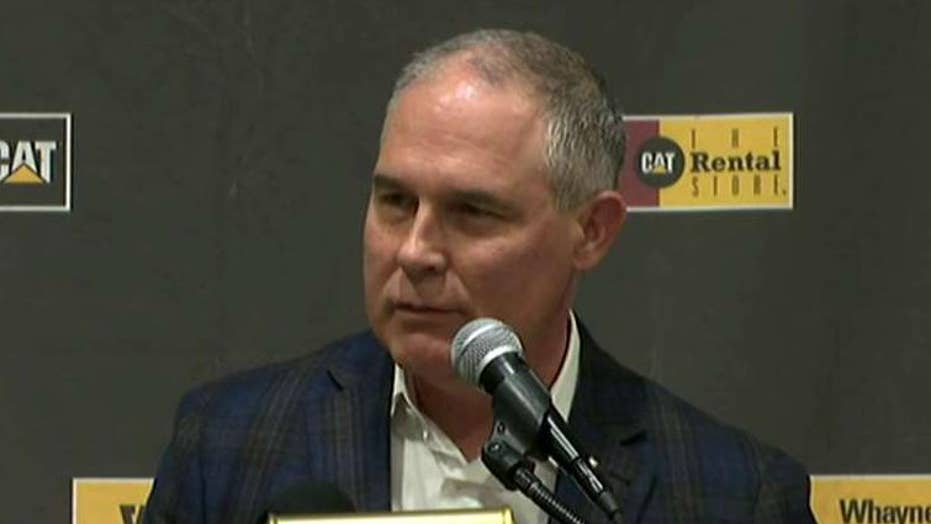 EPA Director Pruitt announces repeal of Clean Power Plan