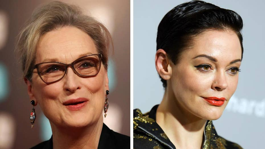 McGowan, Streep and others speak out on Harvey Weinstein