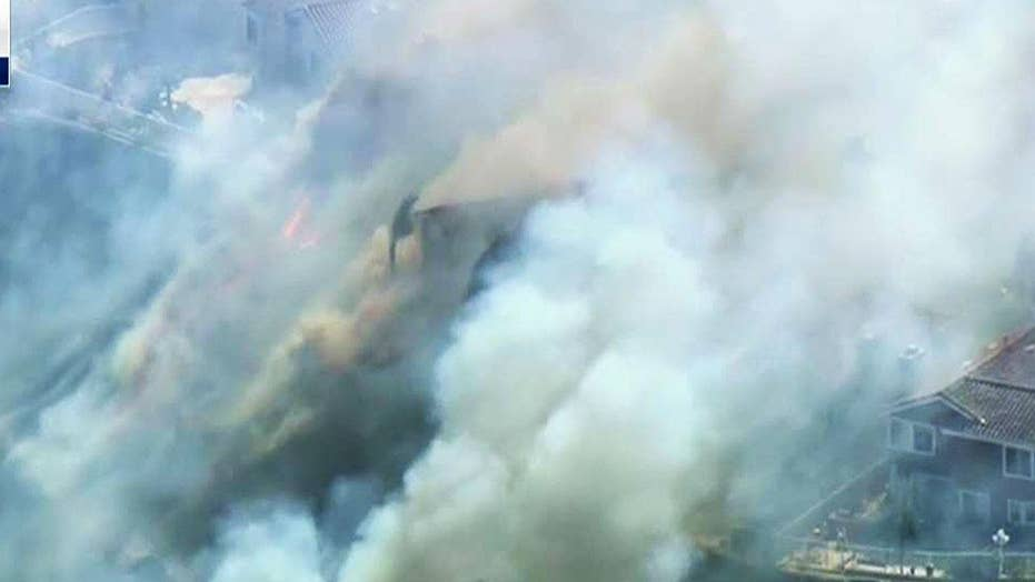Northern California wildfires leave over 20,000 evacuated