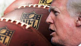 "President Trump slammed the NFL early Wednesday for its decision to ""not force"" players to stand for the National Anthem."