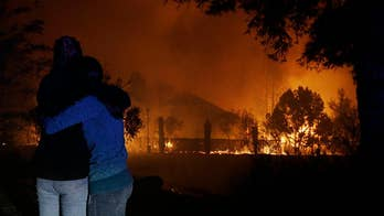 New footage of the explosive wildfires in California's Sonoma and Napa counties. Flames burned over 115,000 acres, destroying more than 1,500 homes and businesses. Officials now report at least15 deaths and over 200 missing-people cases.