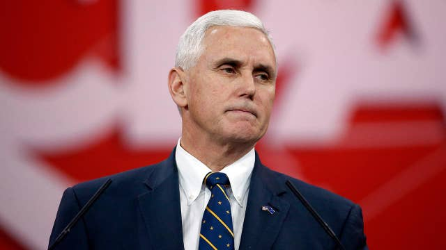 Pence's former press secretary talks about the VP's walkout