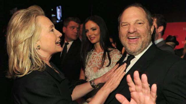 Hillary Clinton silent on Weinstein allegations