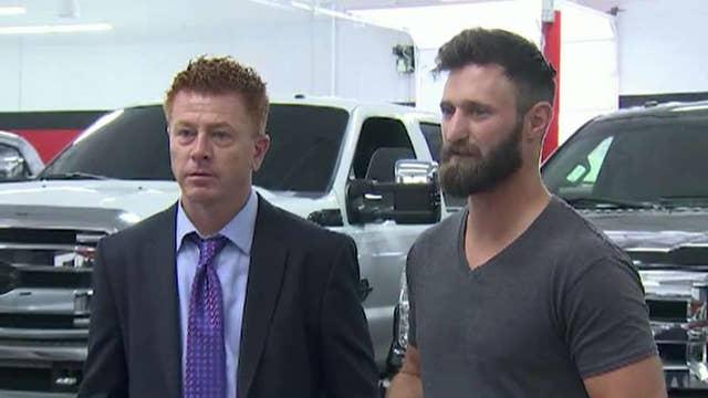 Hero Marine receives free truck after Las Vegas massacre