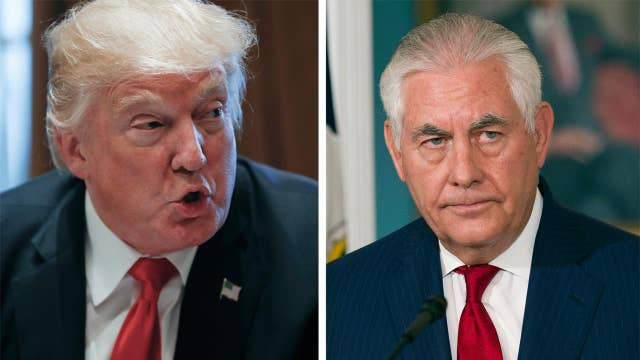 Trump challenges Tillerson to IQ test over 'moron' report