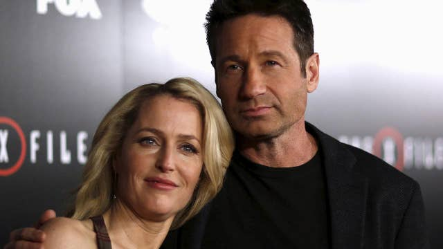 Anderson and Duchovny tease new season of 'The X-Files'
