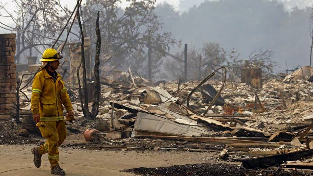 Northern California wildfires kill at least 13