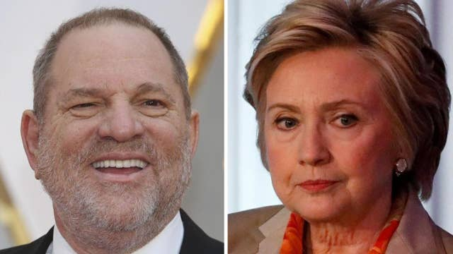 Hillary Clinton breaks silence on Weinstein revelations