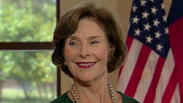 One-on-one with Laura Bush