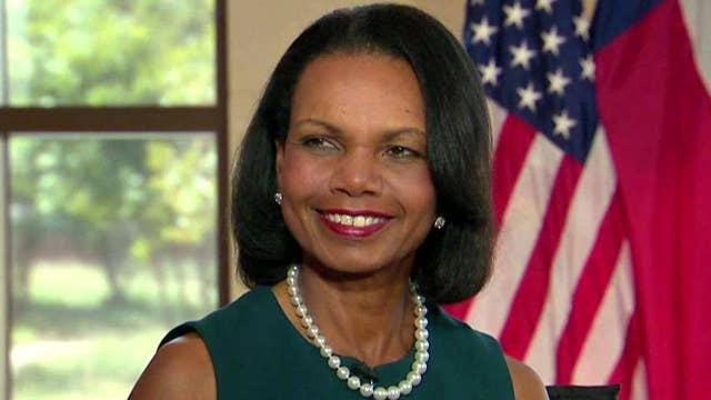 Condoleezza Rice on Tillerson, North Korea, Iran deal