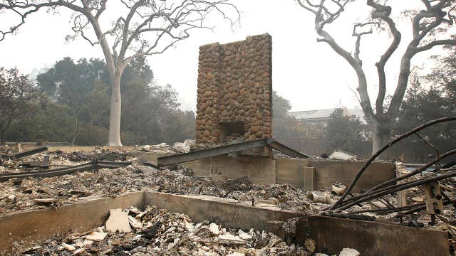 Pence promises federal assistance amid California wildfires