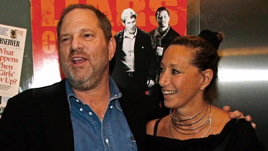 Fashion mogul Donna Karan is apologizing after praising Harvey Weinstein and saying his alleged victims may have been 'asking for it.'