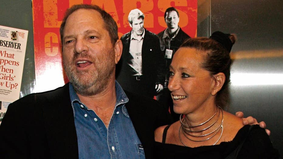 Donna Karan sorry for defending Harvey Weinstein