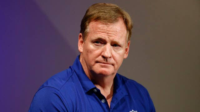 NFL commissioner Roger Goodell calls for protests to end