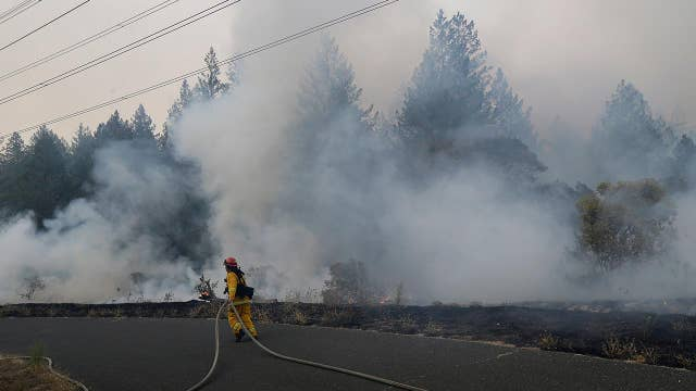 Wildfires spread at an alarming rate in California