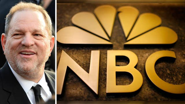 Questions over why NBC News spiked Weinstein story