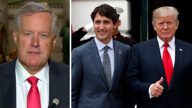Rep. Mark Meadows: 'Very optimistic' about NAFTA talks
