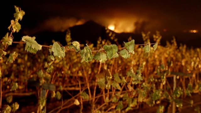 Forecasters say strong winds could fuel California wildfires