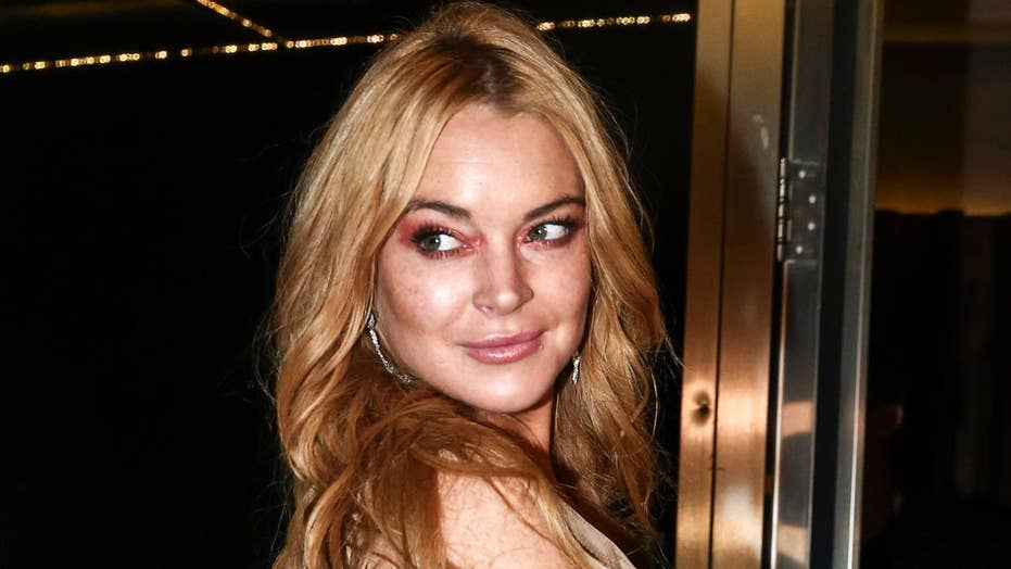 Lindsay Lohan stands up for Harvey Weinstein