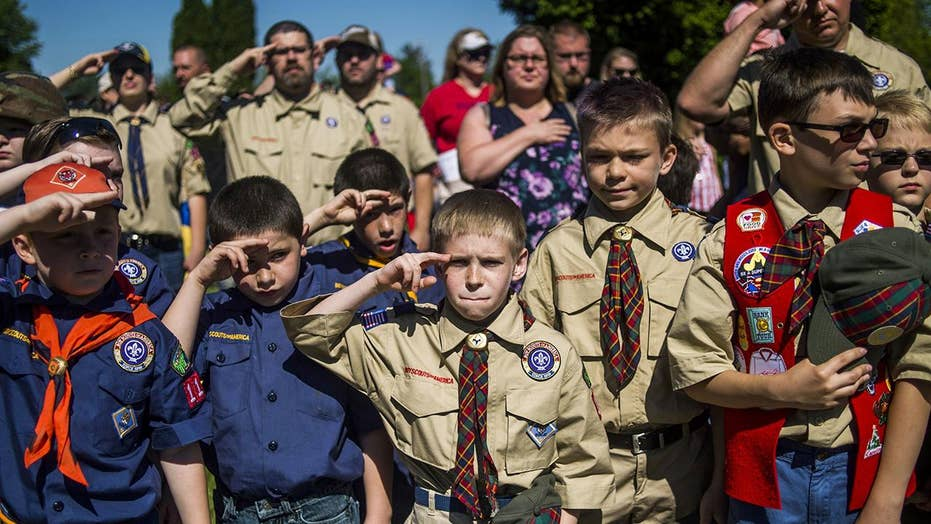 Free gay clips scouts