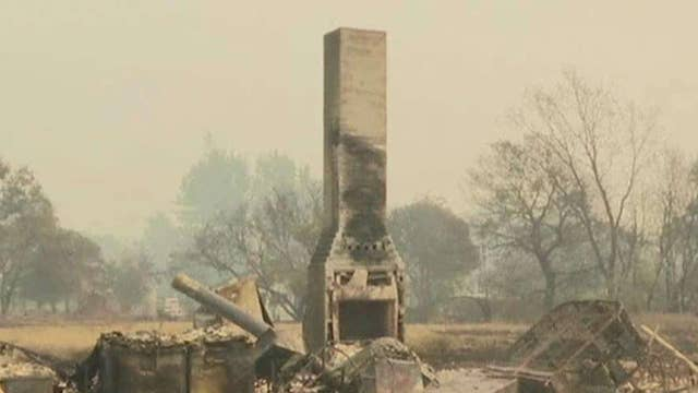 California wildfires raging out of control