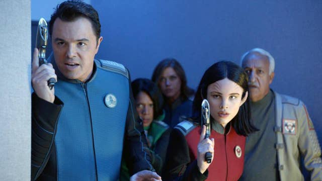 'The Orville' mixes sci-fi, commentary and laughs