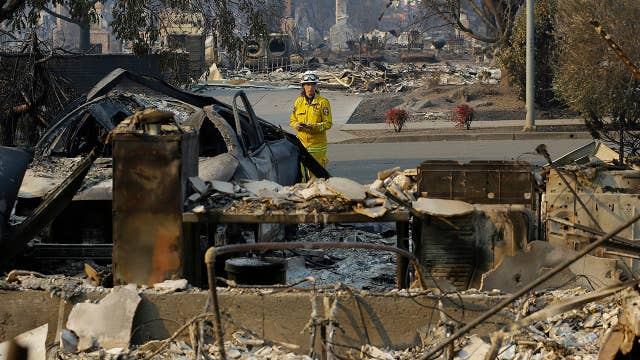 At least 22 large wildfires burn in Northern California